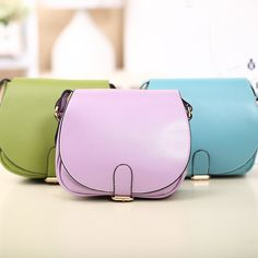 Candy Colors Small Bag Clutch Cross Body Bag