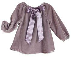 Lindsey Berns #kids Silk Velvet Blouse