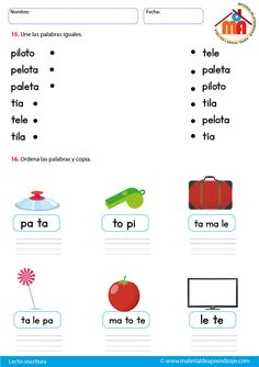 Spanish Lessons For Kids, Spanish Class, Teaching Spanish, Bilingual Education, Kids Education, Speech Therapy, Learning Activities, Acting, Classroom