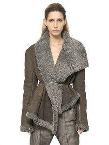 Haider Ackermann - York Shearling Jacket   FashionJug.com