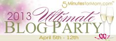 The Ultimate Blog Party 2013 is Coming April 5th-12th #UBP13