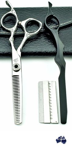 6 inch engraved hair scissors hairdressing tools thinning shears Scissor Kit #hairdressing #scissors #grooming #hairsalon