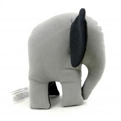 Gray Elephant of Small Size often pursues his favourite occupation – looking through the window.
