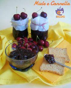 La marmellata di ciliegie, una delle mie preferite, ecco la ricetta :)