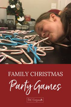 Family Christmas Party Games