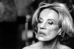 Jeanne Moreau by Peter Lindbergh