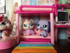 How to make a LPS girl room - YouTube