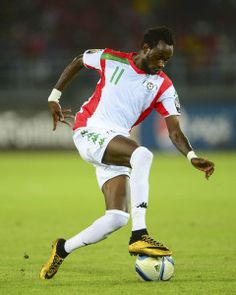 Jonathan Pitroipa of Burkina Faso during the 2015 Africa Cup of Nations football match between Burkina Faso v Gabon at Bata Stadium in Bata, Equatorial Guinea on 17 January 2015 ©Barry Aldworth/BackpagePix