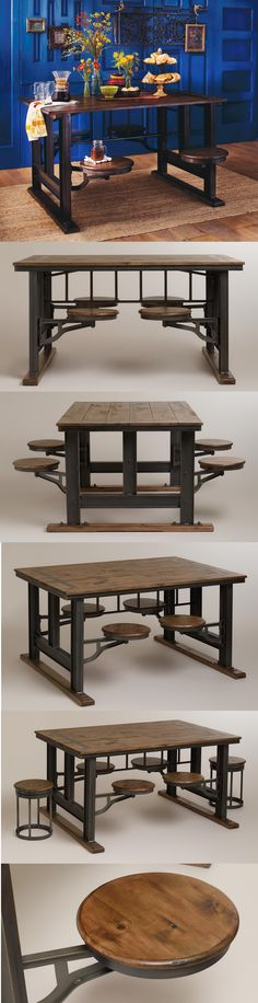 Galvin Cafeteria Table World Market WANT AND LOVE!!