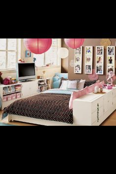 Wow, super belle chambre d'ado!