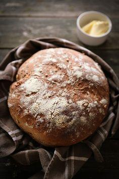 Kotitekoinen maalaisleipä  |  Home made bread How To Make Bread, Homemade, Baking, Eat, Culture, Nice, Home Made, How To Bake Bread, Bakken