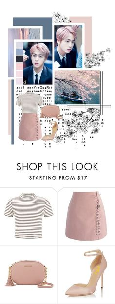 Seokjin by jina-7 on Polyvore featuring Chicwish, MICHAEL Michael Kors, kpop, bts, BangtanBoys, jin and SeokJin