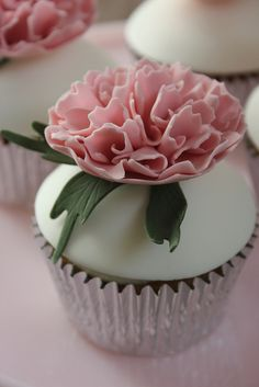 Peony Cupcake. | Flickr - Photo Sharing!
