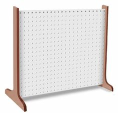art displays - Single Panel Pegboard Display & Portable Craftshop White colour dowel tip Diy Jewellery Display Stand, Earring Display, Jewelry Displays, Salon Des Artisans, Craft Booth Displays, Display Ideas, Booth Ideas, Clothing Booth Display, Craft Booths