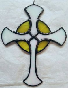 Stained Glass Holy Sun Cross