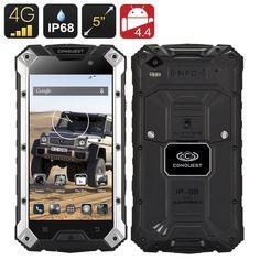 Conquest S6 Plus Rugged Smartphone