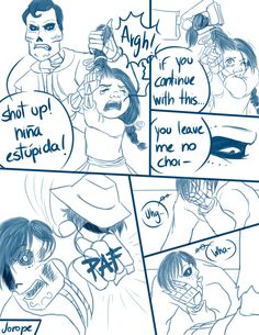 """Next Page: """"Here's the moment when Coco discover that Ernesto de la Cruz killed her father and Ernesto stop her, because she could r. Coco [Main character AU] - Don't touch her Disney And Dreamworks, Disney Pixar, Walt Disney, Disney Conspiracy, Cartoon Characters As Humans, Touching Herself, Disney And More, Cartoon Games, Cute Disney"""