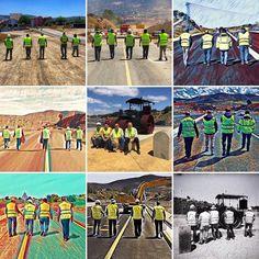 Reservoir dogs. The end. #roadworkersgonewild #lascarreterasdeExtremadura