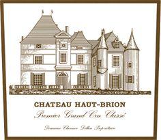 Château Haut-Brion red, 1er Grand Cru classé in 1855