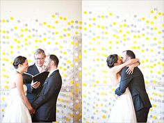 Etsy finds: Let garlands add whimsy to your wedding ceremony decor! | Wedding Party
