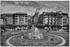 Plaza Príncipe de Viana. Pamplona, Street View, Town Hall, Old Photography, Old Pictures, Cities, Fotografia, Places