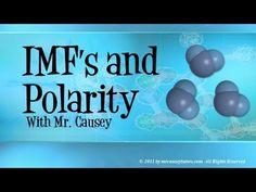 Chemistry - Intermolecular Forces, Polar Bonds and Polarity