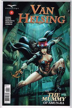 GFT VAN HELSING VS DRACULA #3 Cover A Tolibao Zenescope NM Vault 35 Comic
