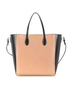86d96a95fd08 Rochas Leather Rochas NS Tote. FORZIERI