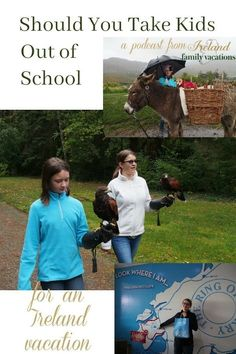 Thinking about taking your kids out of school to travel to Ireland? A few tips on how to take your kids out of school to travel + off-season Ireland travel tips. Traveling in Ireland POdcast by Ireland Family Vacations. Halloween In Ireland, Christmas In Ireland, Ireland Vacation, Ireland Travel, Vacation Trips, Family Vacations, Vacation Ideas, Travel Guides, Travel Tips