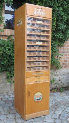 1-13-715-Naehgarnschrank-Schubladenschrank-MEZ-Naehseidenschrank-Ladenschrank
