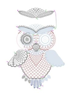 Two crochet owls. my own design UPD. I created step-by-step tutorial for this crochet owls. The resulting owl is slightly different, but the idea is the same. It comprises of 12 parts. Here is the ...