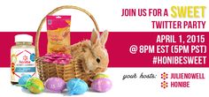 Join Me for the #honibeSweet Twitter Party - Spaceships and Laser Beams