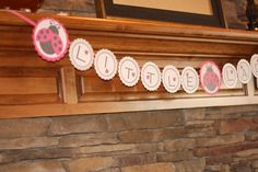little lady banner lady bug banner sign