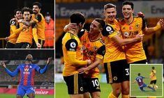 Wolves 2-0 Crystal Palace: Rayan Ait-Nouri and Daniel Podence strike to down Eagles | Daily Mail Online Wolverhampton Wanderers Fc, Premier League Table, Nobby, Bt Sport, Free Kick, Crystal Palace, The Visitors, Everton