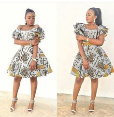 The complete pictures of latest ankara short gown styles of 2018 you've been searching for. These short ankara gown styles of 2018 are beautiful African Fashion Ankara, African Fashion Designers, Latest African Fashion Dresses, African Dresses For Women, African Print Dresses, African Print Fashion, African Attire, African Wear, African Women