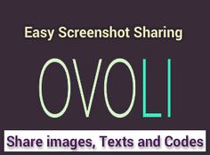 LI is one of the best and easy screenshot sharing tools that allow users to share screenshots, images and texts instantly with others. No need to install any special software or file to share data or information, just use it. Text Codes, Online Image Editor, Texts, Coding, Easy, Software, Programming, Text Messages