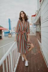 Captivating Striped Dress Outfit Ideas For Summer To Try Asap - Dresses for the warmer weather come in many patterns, colours and sizes so that every woman or girl can stay cool. It is not surprising that many peop. Modest Dresses, Modest Outfits, Simple Dresses, Modest Fashion, Cute Dresses, Dress Outfits, Casual Dresses, Fashion Dresses, Summer Dresses