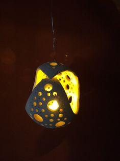 Lampička - Světluška / Zboží prodejce šija   Fler.cz Paper Clay, Diy Clay, Christmas Themes, Clay Jewelry, Mosaic Tiles, Ceramic Pottery, Decoration, Candle Holders, Creations