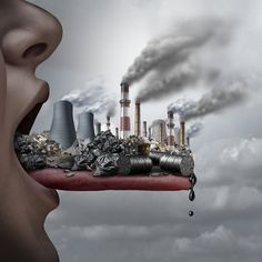Air pollution was found to be contributing to low levels of happiness among residents of major cities in China. Environmental Pollution, Environmental Issues, Air Pollution Project, Air Pollution Poster, World Environment Day, Poster Drawing, Global Warming, Photo Manipulation, Climate Change