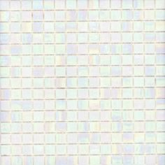 Elida Ceramica 13-in x 13-in Glass Mosaic Pearl Glass Wall Tile