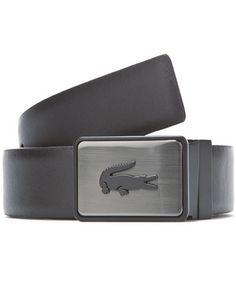 Lacoste Men's Reversible Leather Belt