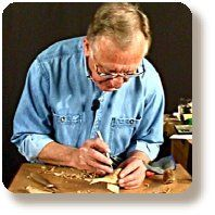 Carving how-to video: Beginning Woodcarving by Everett Ellenwood