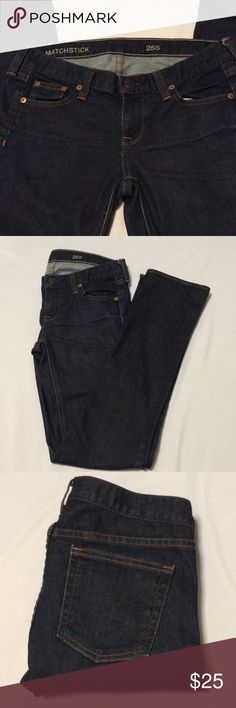 J Crew Matchstick Jeans Great condition Inseam 30' J. Crew Jeans