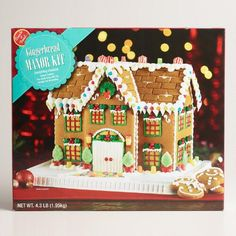 Manor Gingerbread House Kit via Cost Plus World Market >> #WorldMarket #Holiday