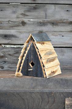 Unique Birdhouses Outdoor Birdhouse Reclaimed Wood Bird House