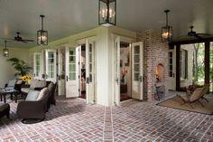 front porch ground level