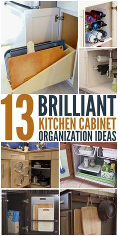 13 brilliant kitchen cabinet ideas