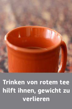 Roter Tee, um Gewicht zu verlieren, wenn sie genommen werden