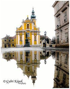Győr esőben Hungary Travel, Heart Of Europe, Budapest Hungary, Homeland, Czech Republic, Austria, Big Ben, To Go, Explore