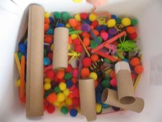 Tub and slide activity for Downs Syndrome